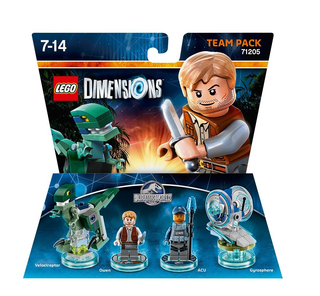 Lego LEGO Dimensions TEAM PACK - Jurassic World Giocattolo ibrido