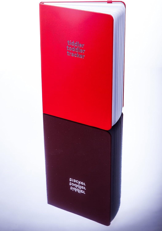 Tiddler tracker pour enfant/ /Gagnant du Prix pour enfant suivi Journal Changement et journal dactivit/é livre sommeil Daily Meal Time//alimentation Luxe pour enregistrer livre B6 Red