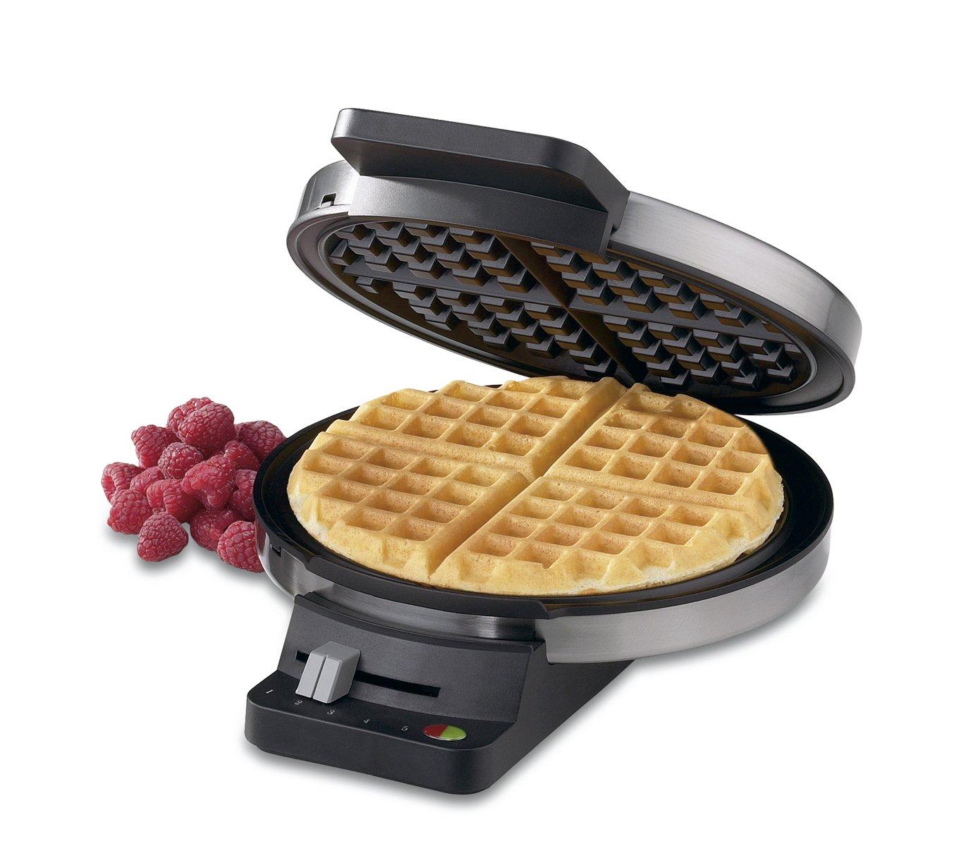 Amazon Com Cuisinart Wmr Ca Round Classic Waffle Maker Electric