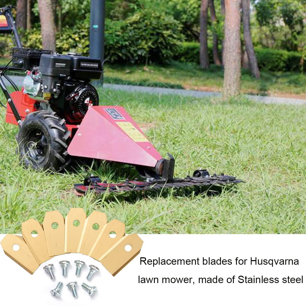 Cuchillas de repuesto para cortacésped Husqvarna Automower y robot ...