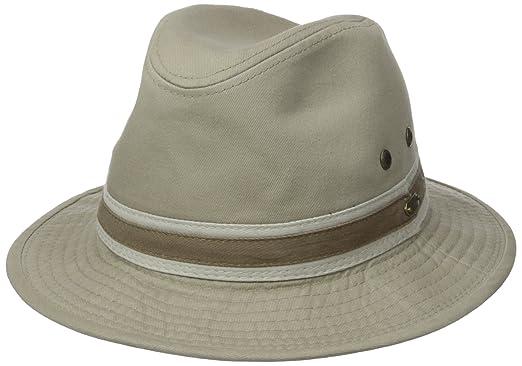112a9028f3340 Stetson Men s Durango Safari Cloth Hat