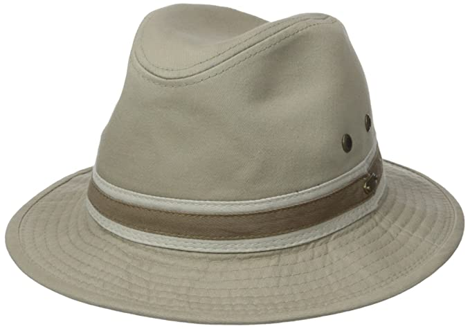 Stetson Men s Durango Safari Cloth Hat 151f633d233