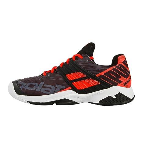 Babolat Hombres Propulse Fury Allcourt Zapatillas De Tenis Zapatilla Todas Las Superficies Negro - Naranja 46