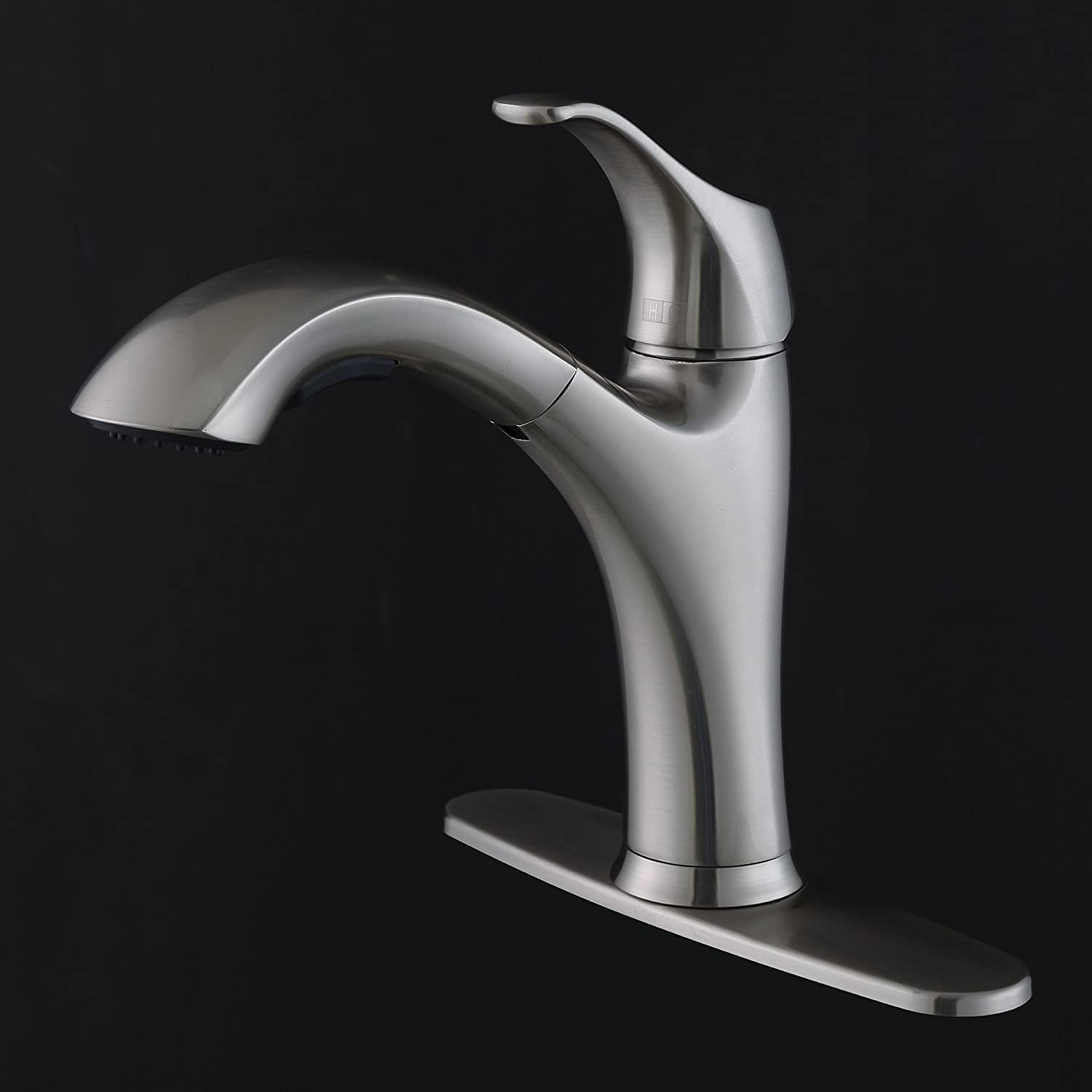 kraus kpf 2250 single lever pull out kitchen faucet stainless