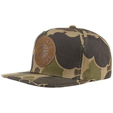 4a0d0cef2ca Lux Camo Raptors Cap Mitchell & Ness cap base cap (One Size - camouflage)