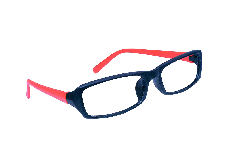 186d431aee Lensport red black full rim rectangular spectacle frame for boys girls  spectacles clothing accessories jpg 1500x991