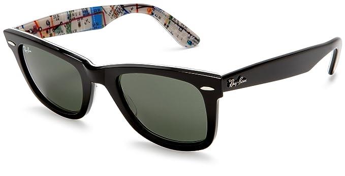 ddb4588af5 ... sunglasses rb2132 894 76 matte tortoise polarized blue green gradient  55mm dutyfreeislandshop a67d6 6e8bf  italy ray ban wayfarer black subway  frame ...