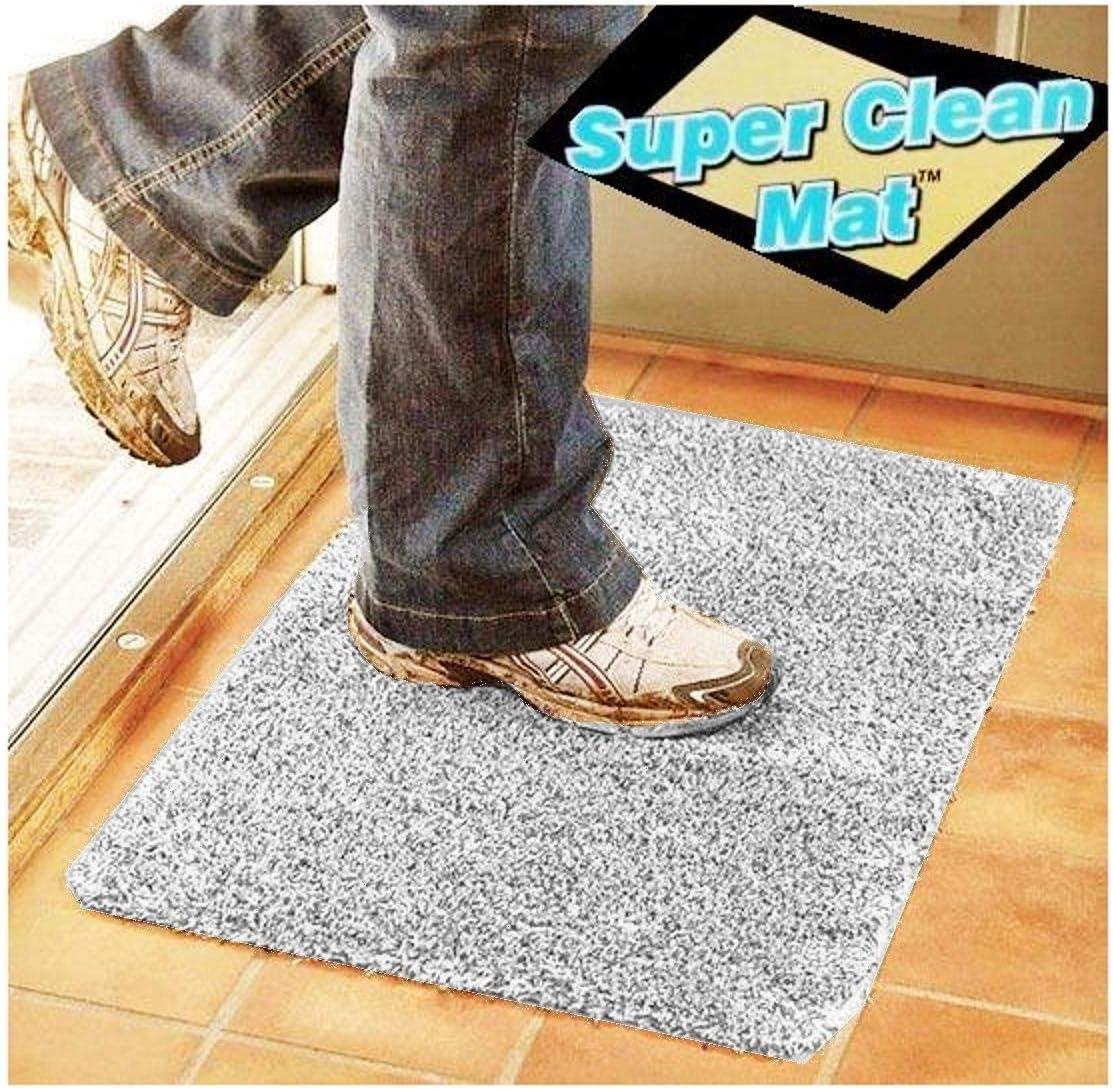 Magic Clean Mat Door Step Doorstep Super Absorbent Doormat Microfibre Washable