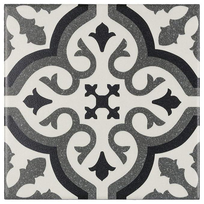 Amazon.com: MTO0234 Moderno mosaico cuadrado de porcelana ...