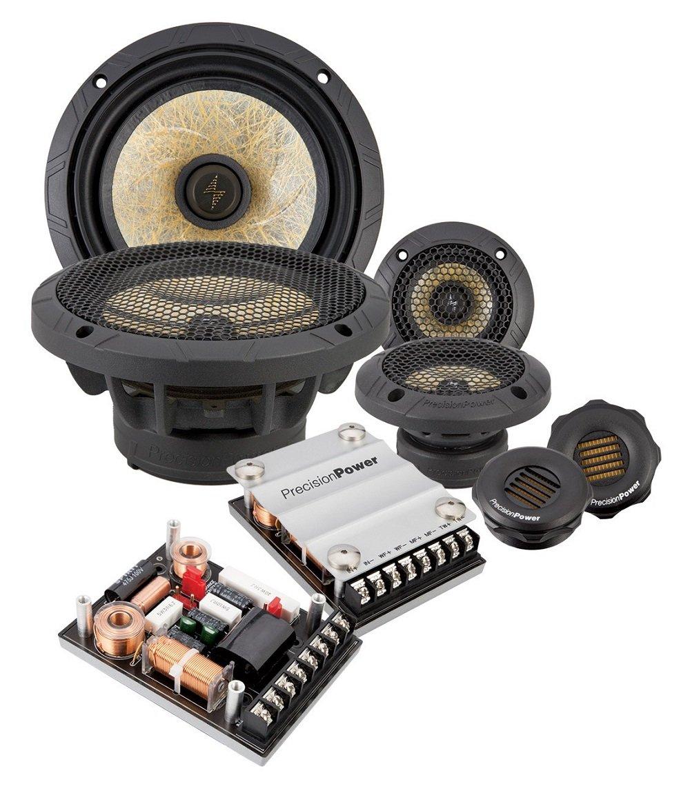 Precision Power P65c3 65 3 Way Class Series Rockford Fosgate Component Speakers Car Audio Speaker System Electronics