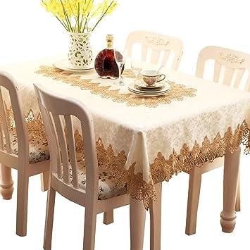 Tischdecken Modern xixi hochwertige spitze tischdecke rechteck tribute satin material