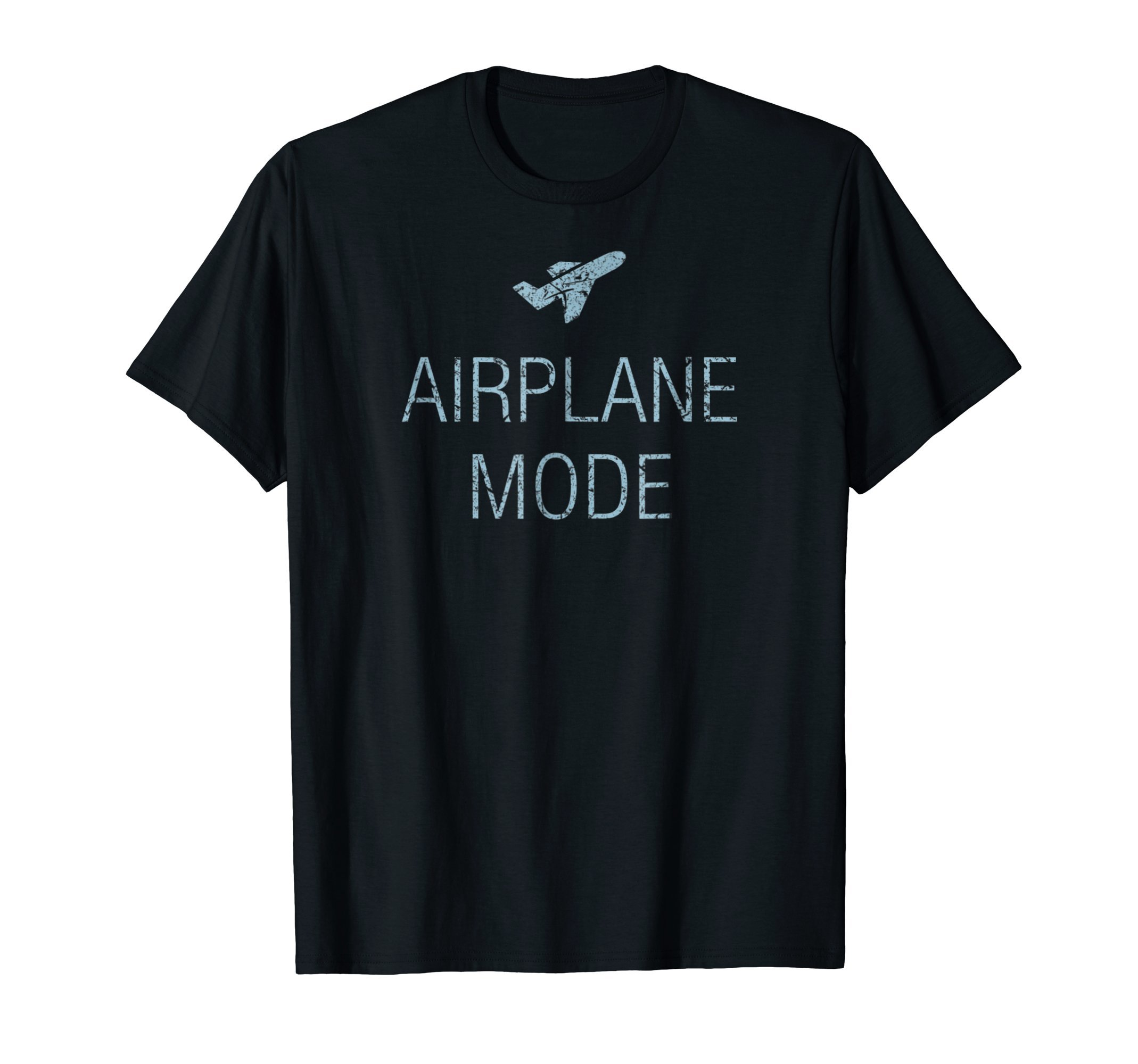 Awesome Airplane Mode T-Shirt. Travel Around the World Tee by Awesome Travel Adventure Apparel (Image #1)