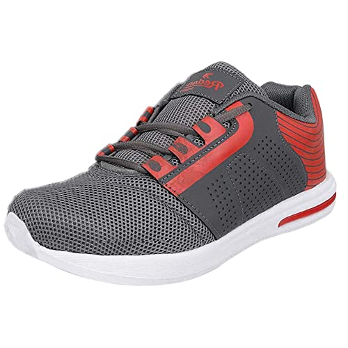 d0ae77039 Redon Men s Grey Mesh Sports Running Shoes  Buy Online at Low Prices ...