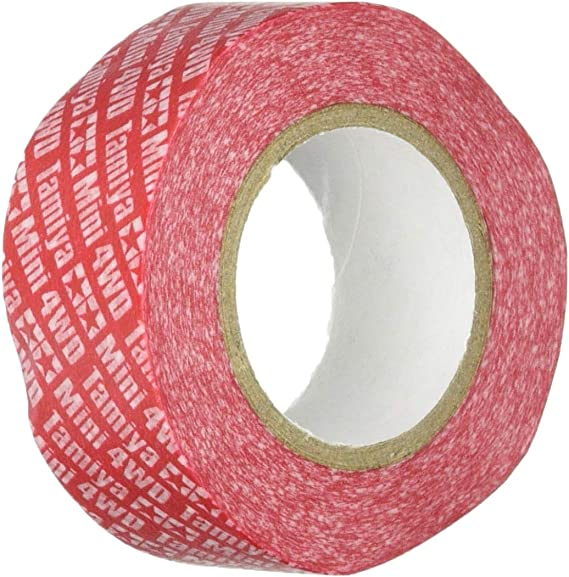 Tamiya Upgraded parts Multi-Tape 20mm width Red 95554 Japan import NEW