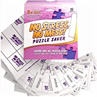 AGREATLIFE No Mess, No Stress Puzzle Saver 12 Sheet - Preserve Your 1000 pcs Completed Jigsaw Puzzle. Comes with Super…