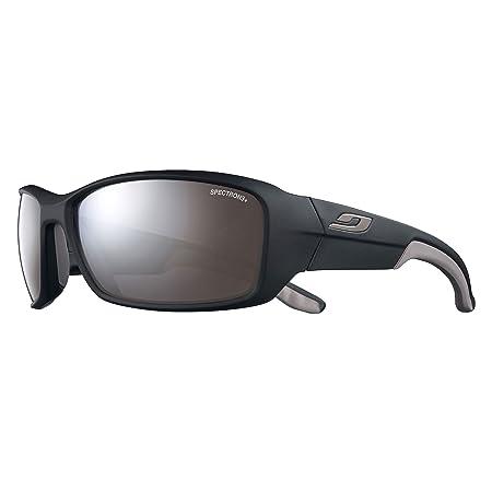 Julbo Run Sonnenbrille Unisex Erwachsene, schwarz matt/grau