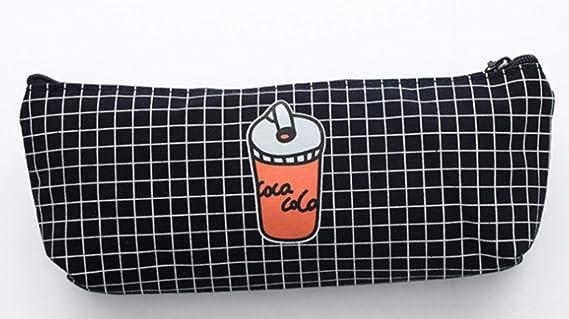 WanTo 1 Pieza Kawaii Estuche para lápices Papas Fritas Coca Cola Estuches Escolares Estuche para lápices Estuche para lápices Bolso para lápices Útiles Escolares Papelería, Pizza: Amazon.es: Hogar