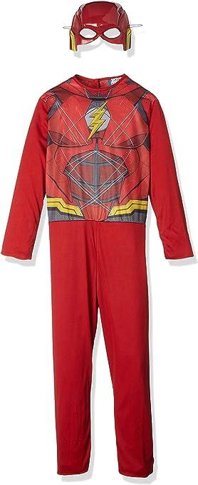 Marvel - Disfraz de Flash superhéroe para niños, infantil 5-7 años ...