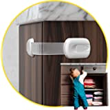 Child Safety Cabinet Locks for Babies (14 Pack) Child Proof Latches Locks for Cabinets and Drawers Doors, Baby Proofing Cabin