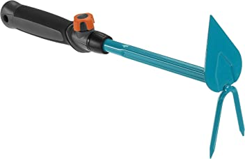 3745-20 Gardena combisystem-ergoline Aluminiumstiel 150 plus: Aluminiumstiel f/ür alle combisystem-Ger/äte ergonomischer Griff f/ür bessere Handhabung r/ückenschonend 150 cm L/änge