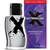 Astroglide X Premium Silicone Based Lubricant - Extremely Long-Lasting Lube - Silky Lubricant Formula Perfect for Keeping the Play Going and Pleasure Coming!