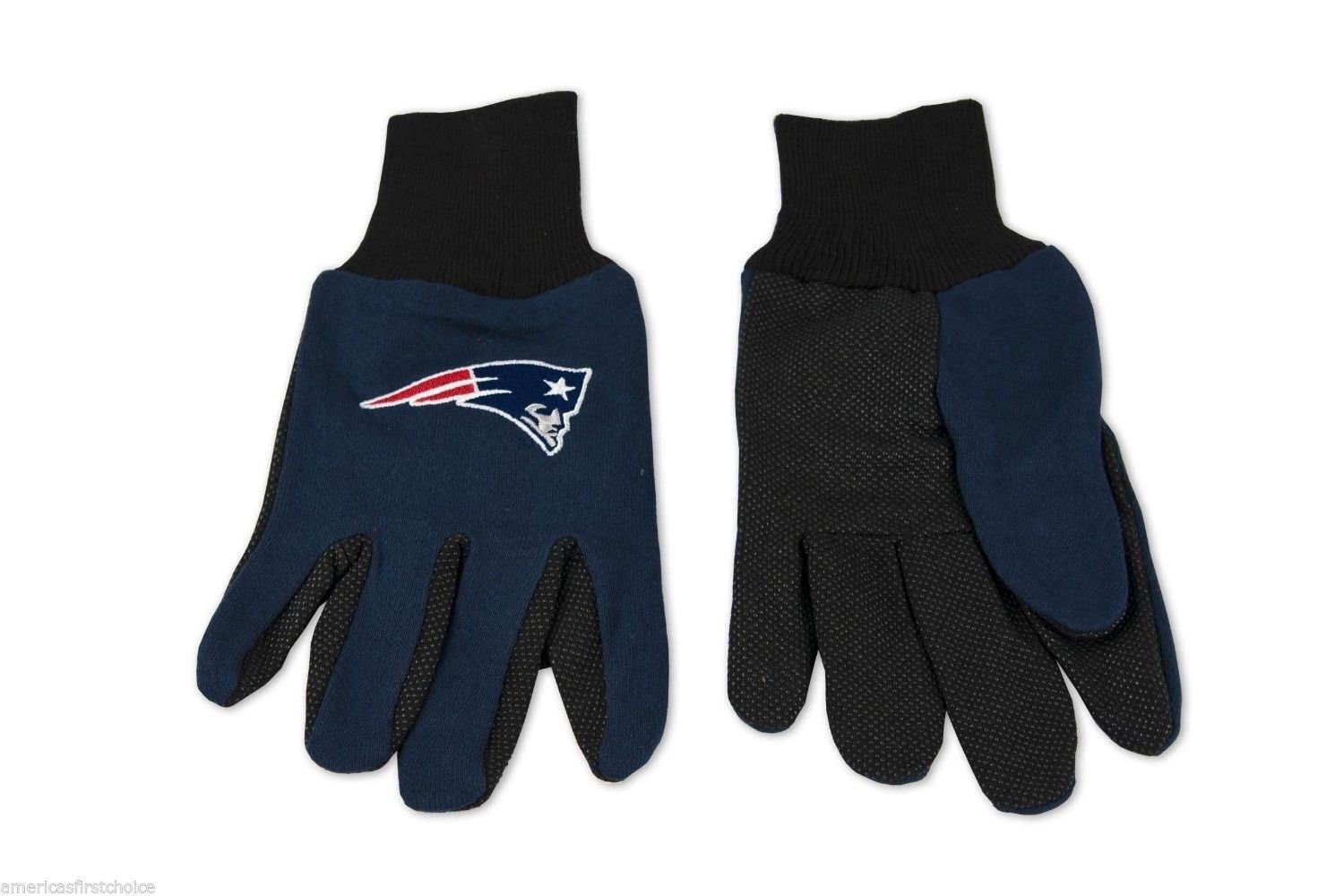 Granny 's Best Deals ( C ) Forever Collectibles NFL 2015新しいEngland Patriots Kids 2トーンブルー/ブラックユーティリティ作業gloves-brand新しい。 B019TNP02G