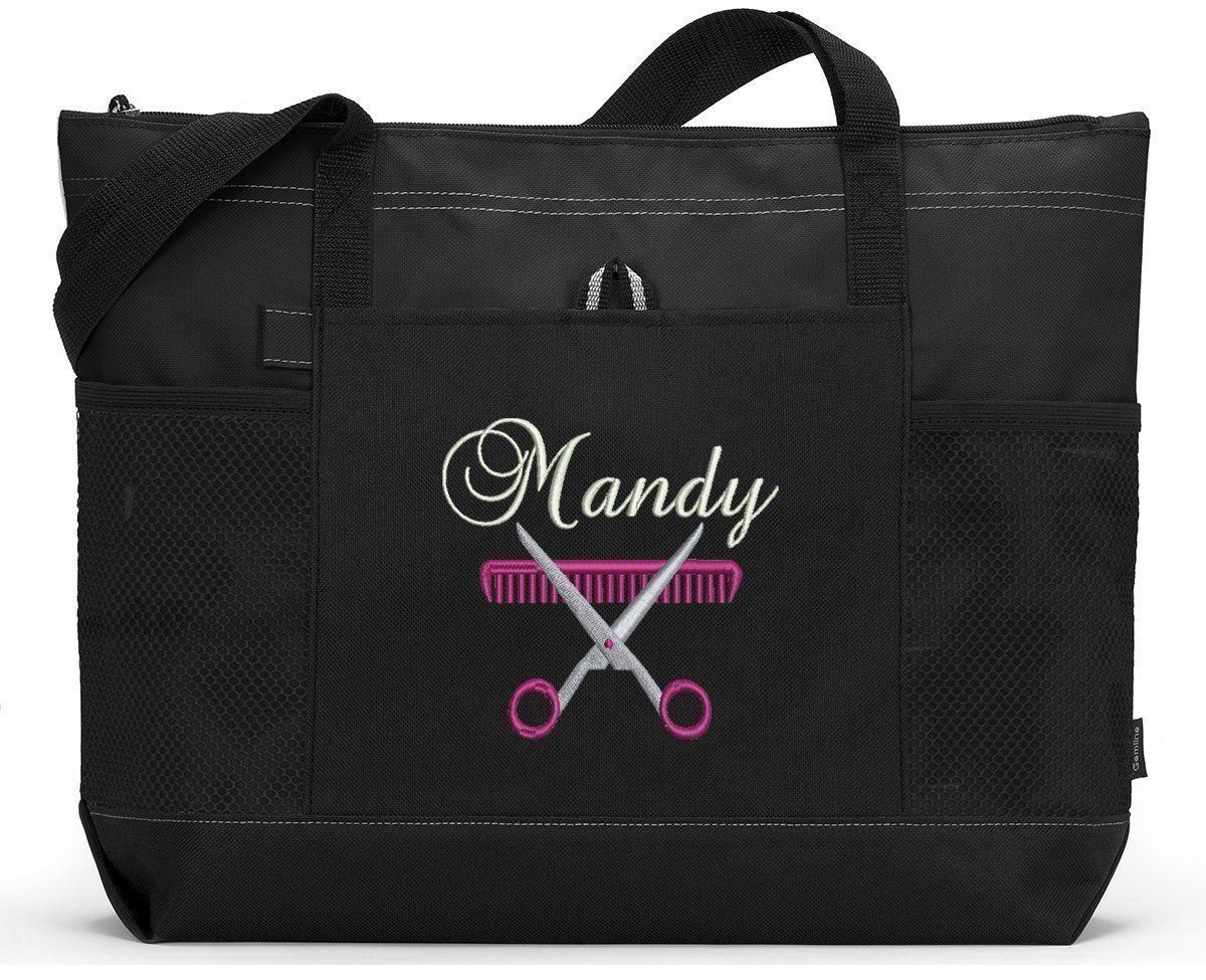 Hair Stylist Personalized Embroidered Tote