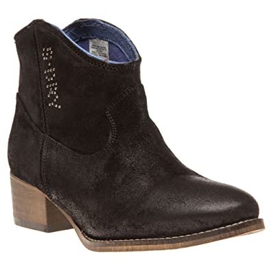 Superdry Falcon Womens Boots Black