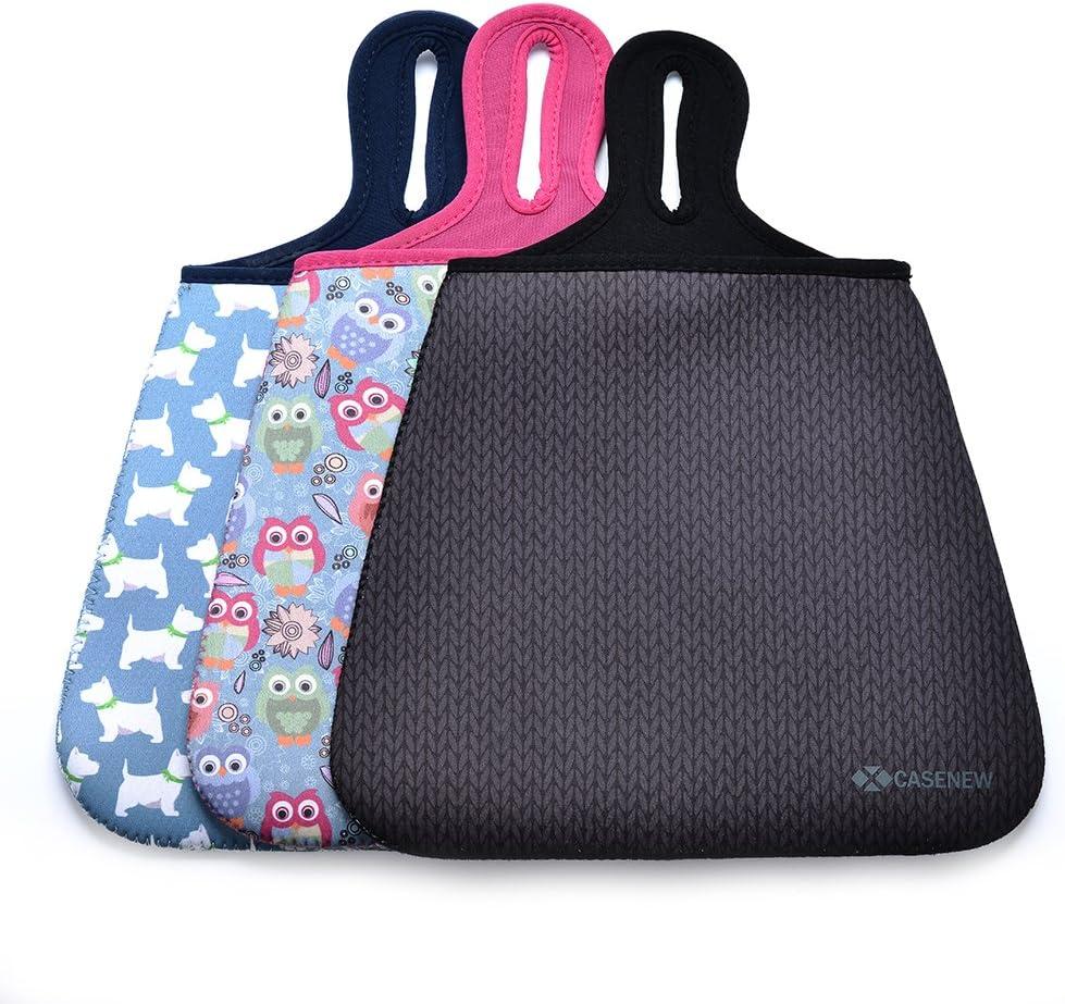 Case New Soft Neoprene Auto Trash Bag Sleeve Pouch//Litter Bag//Car Trash Keeper//Garbage Holder//Trash Liner Bag /& Auto Organizer Storage Bag Stick Shift Car Garbage Bin-Owl