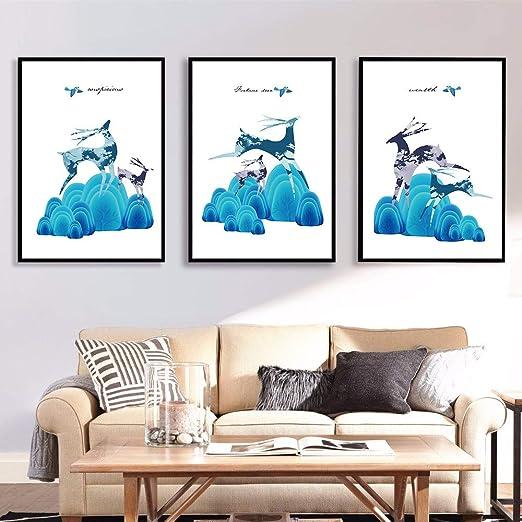 tzxdbh Cartel norteño impresión Pintura Abstracta Oso Cartel ...