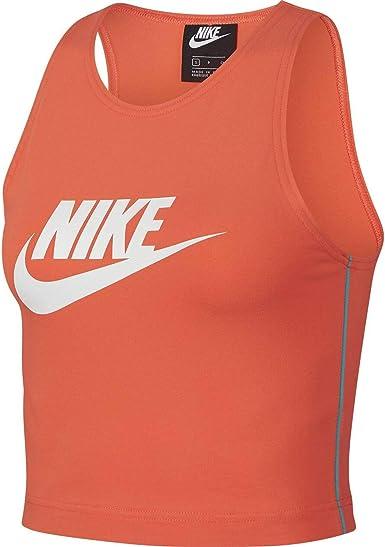 NIKE Sportswear Heritage Camiseta para Mujer - algodón Talla: L ...