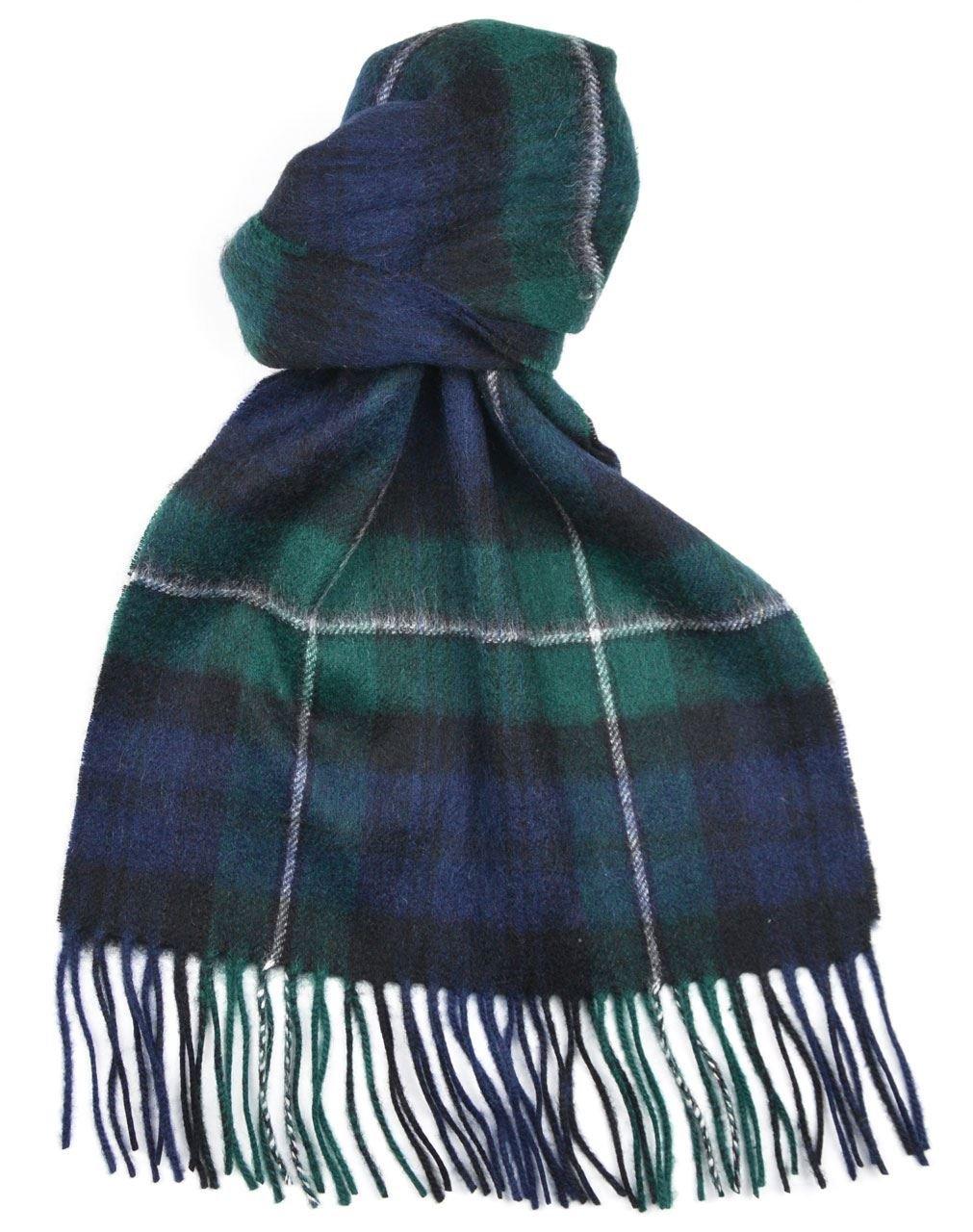 Lambswool Scottish Clan Scarf Forbes Modern Tartan