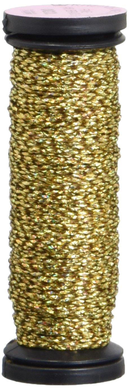 Kreinik 微細金属三つ編み #8 10 メートル (11 ヤード)-クロモ ゴールド B004BP7B9I #002L-Chromo-Gold 1-Pack