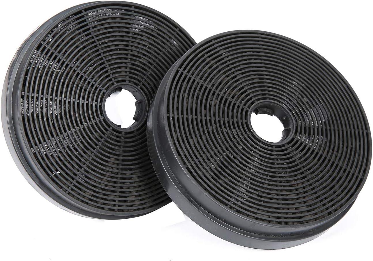 CIARRA CBCF003 Filtro de Carbón Activado Repuesto para Campanas Extractoras Decorativa de Cocina (Paquete de 2 Unidades)