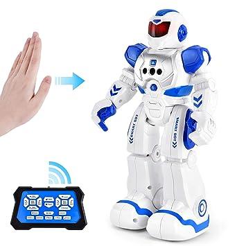 Amazon.com: Robot de control remoto Rainbrace RC para niños ...