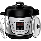 COSORI Mini 7-in-1 Multifunctional Programmable Pressure Cooker, Rice Cooker, Slow Cooker, Food Steamer, Yogurt Maker with Non-Stick Inner Pot ,2 Quart /800W