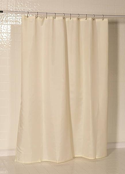 Amazon Royal Bath Water Repellant Nylon Fabric Shower Curtain