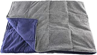 product image for Grampa's Garden Weighted Blanket Gray 10 Pound Made in USA