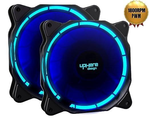 69 opinioni per uphere fantastic 120-LED Ventola di Raffreddamento da 120 mm, blu (Confezione