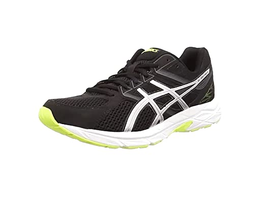 ASICS - Gel-Contend 3, Zapatillas de Running Hombre, Gris (Onyx/Silver/Flash Yellow 9993), 44 EU: Amazon.es: Zapatos y complementos