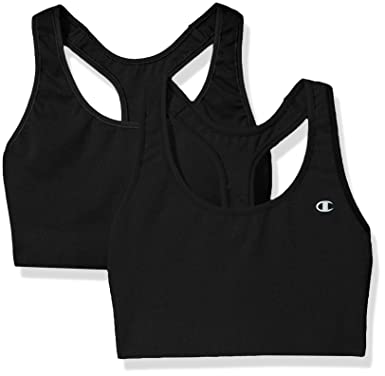 3da26aff5daaa Champion Women s Absolute Sports Bra (Pack of 2) at Amazon Women s Clothing  store
