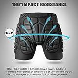 Basecamp Impact Protective Shorts, Compression 3D
