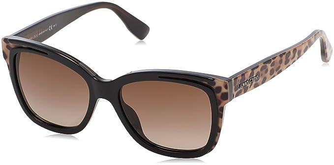Jimmy Choo BEBI/S J6 PUE 53, Gafas de Sol para Mujer, Negro ...