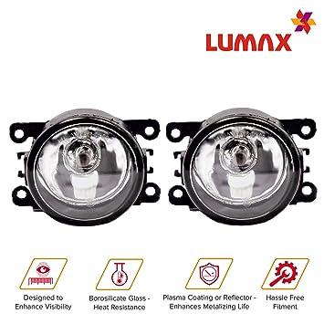 Lumax Maruti Swift Halogen Fog Lamp with Wiring Kit - Set of 2 on