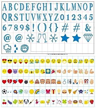 Cartel de cine para letras y símbolos de caja de luz A4 ...