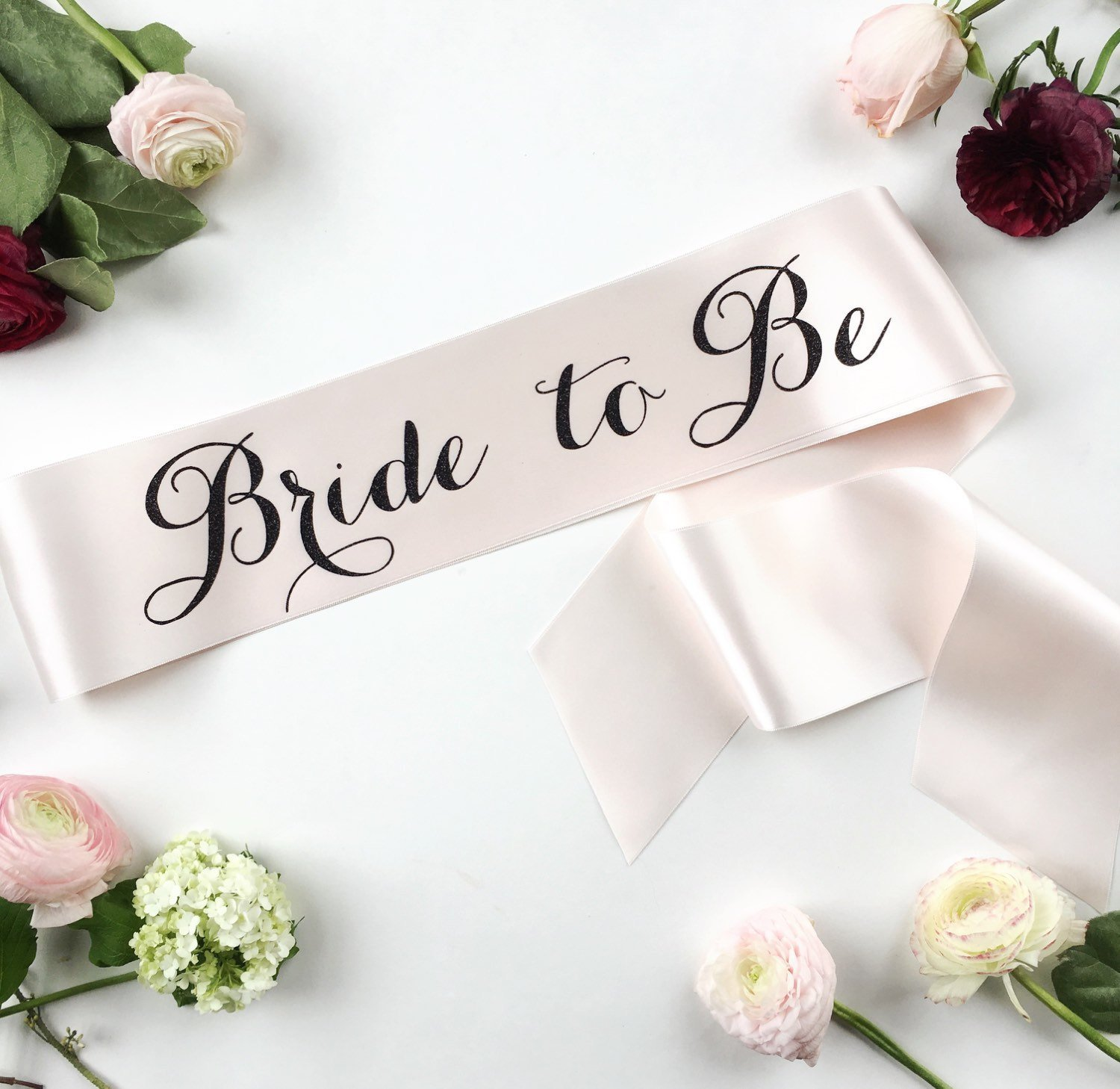 Bride to Be Sash Bridal Bachelorette Sash