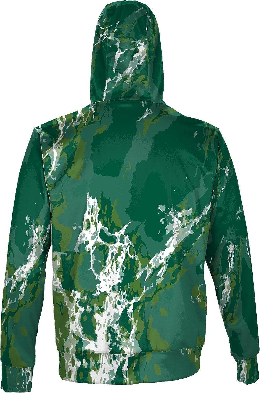 North Dakota State University Mens Pullover Hoodie Marble School Spirit Sweatshirt