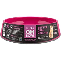 Oh Bowl Fresh Breath Cat Bowl, Pink One Size