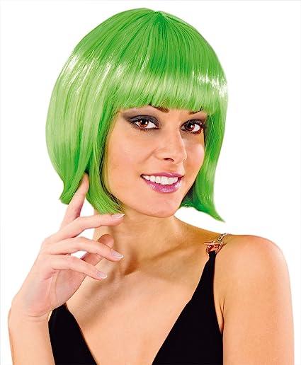 Cabaret Wigs Perruque Fantaisie Carré Court