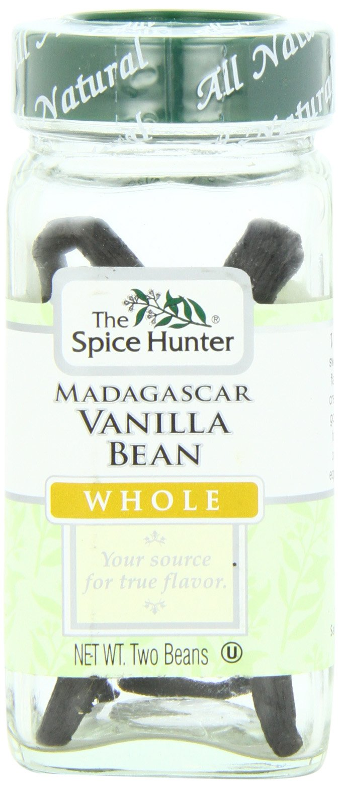 The Spice Hunter Vanilla Bean, Madagascar, Whole, 2 Bean Jar